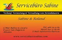 Servicebüro Sabine