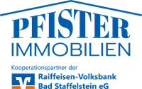 Immobilien Pfister  Kooperationspartner der Raiffeisen-Volksbank Bad Staffelstein eG